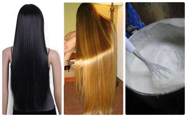 Receita caseira para alisar o cabelo