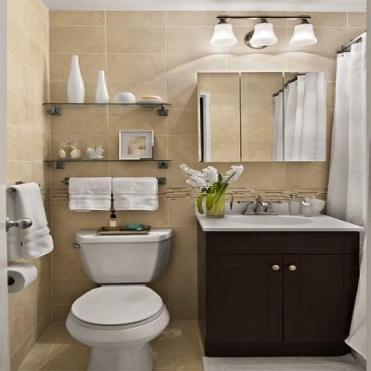 22 truques para deixar um banheiro pequeno mais espaçoso  Site de Beleza e Moda -> Como Deixar Um Banheiro Pequeno Bonito