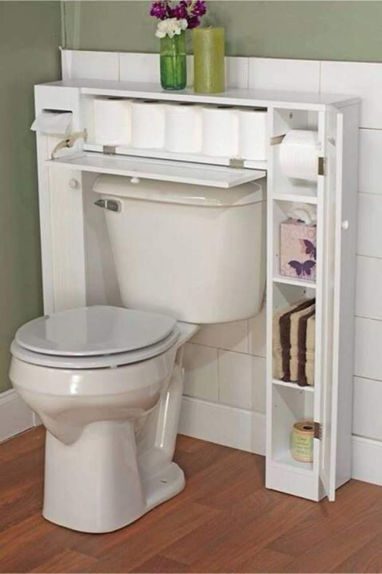 22 truques para deixar um banheiro pequeno mais espaçoso  Site de Beleza e Moda -> Vaso Banheiro Pequeno