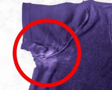 Truques para remover marcas de desodorante da roupa