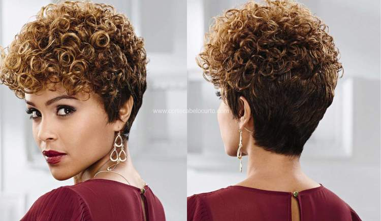 Corte Pixie Hair Para Cacheada