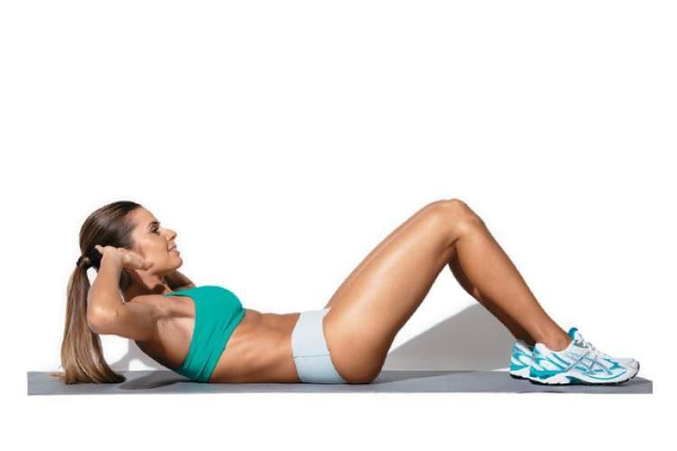Exercício retoabdominal para tonificar o abdômen