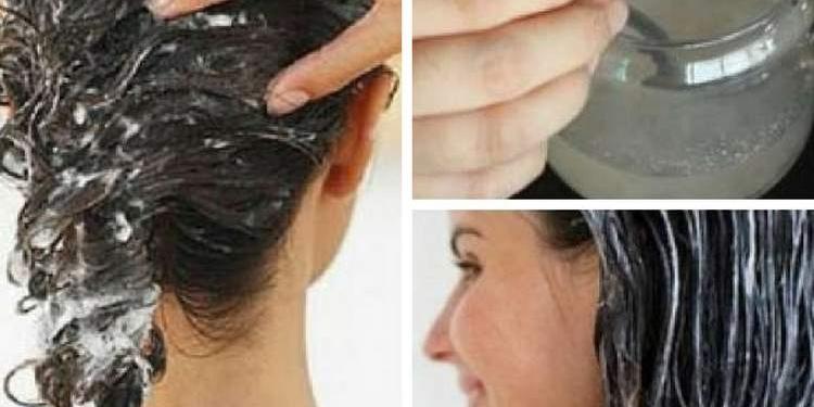 Misture isto no shampoo para deixar seu cabelo grosso e com volume