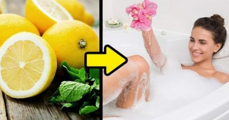 Tome banhos cítricos para evitar um resfriado