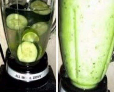 Tome este suco duas vezes ao dia para acabar com a gordura da barriga