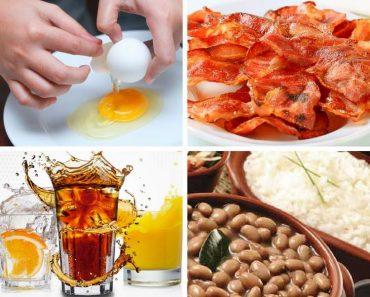 4 combinações de alimentos que não fazem bem ao corpo e à saúde