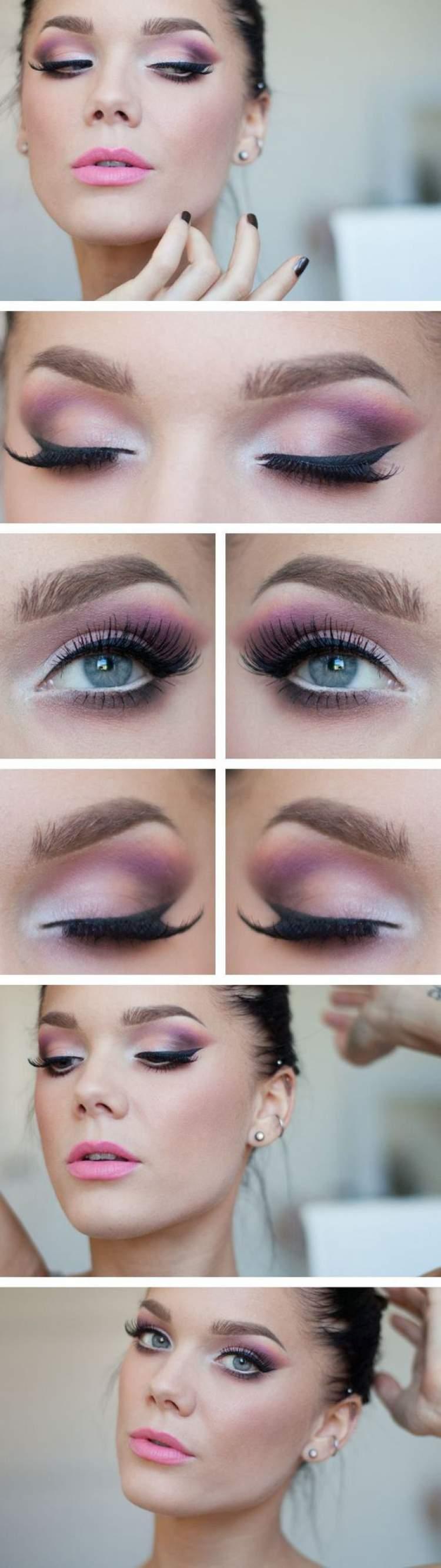 Fotos de maquiagem para quem tem olhos pequenos
