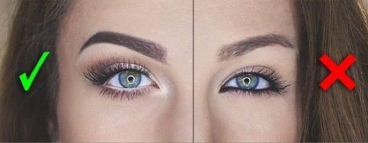 Ideia de maquiagem para quem tem olhos pequenos