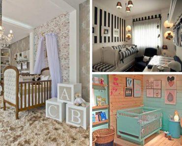 Ideias para fazer a decoração do quarto do bebê