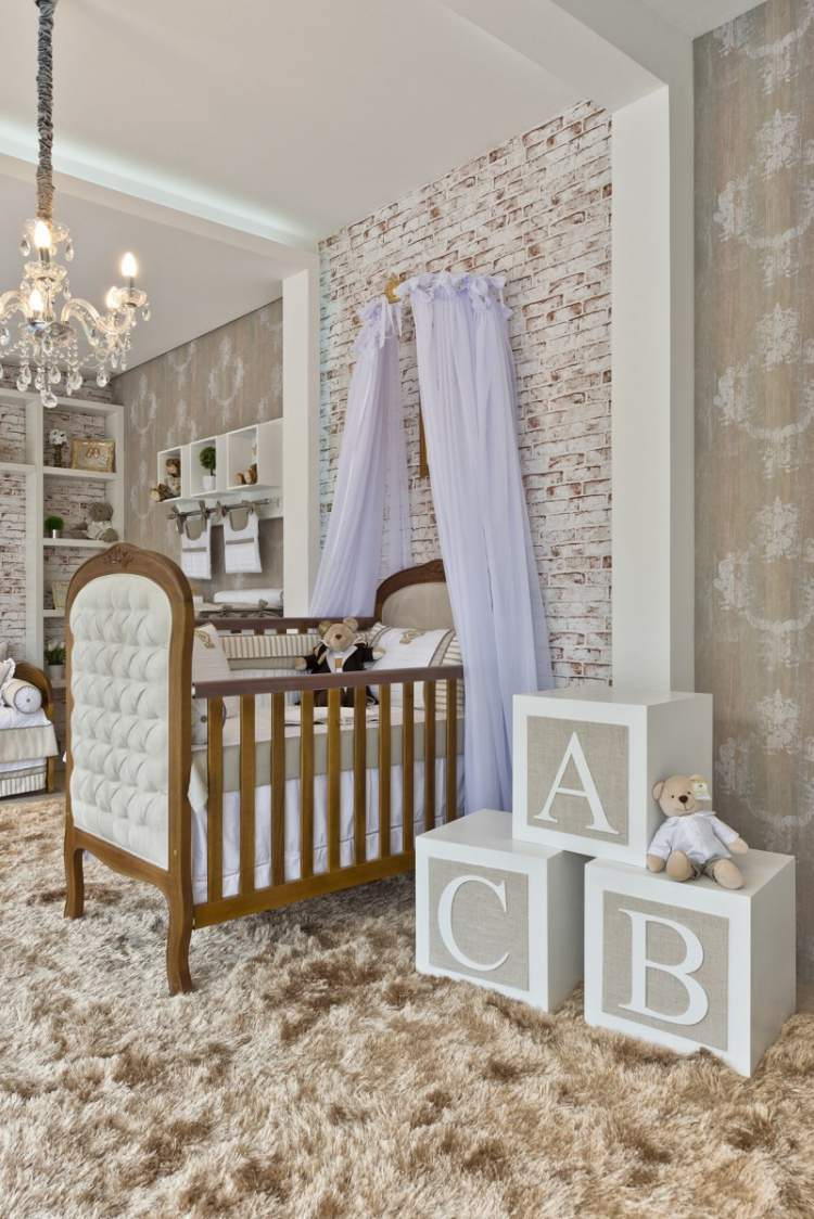 Linda decoração para o quarto do bebê
