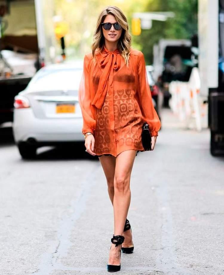 Look da moda na cor do verão 2018