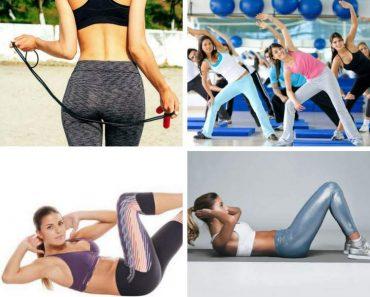 Melhores exercícios para acabar com os pneuzinhos