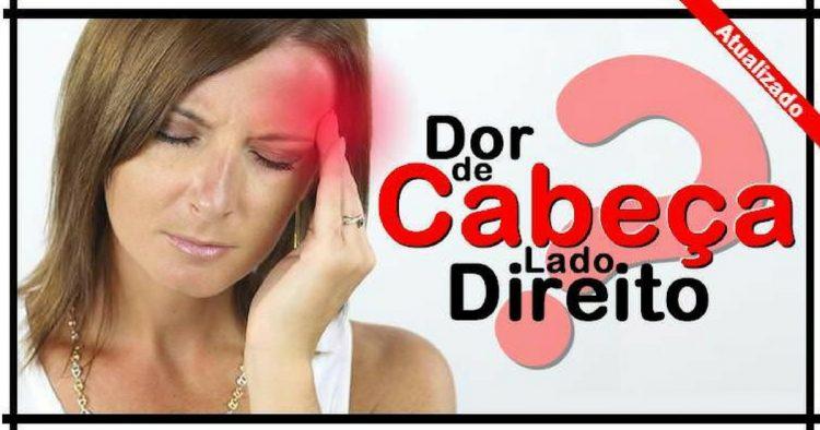 Causas da dor de cabeça do lado direito