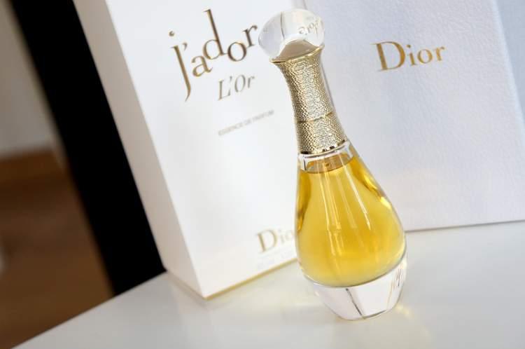 J'adore L'or Dior é uma ótima escolha como perfume de verão