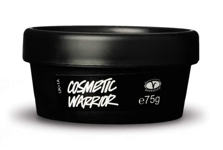 Máscara de limpeza Cosmetic Warrior, Lush para salvar a pele oleosa no verão