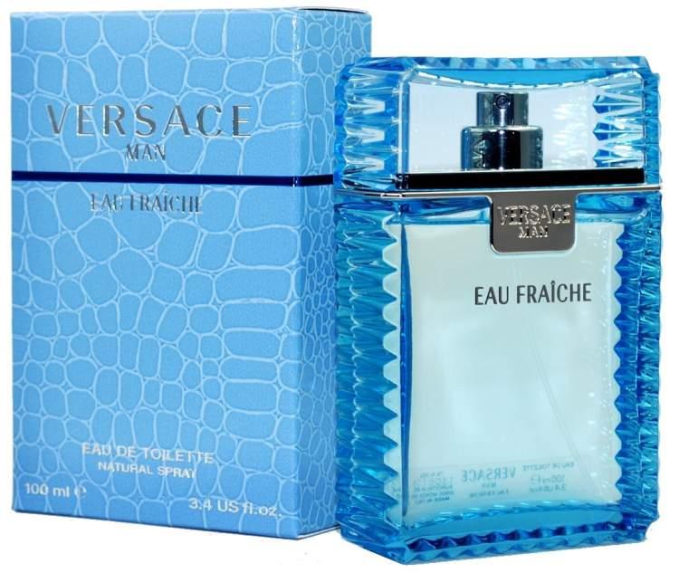 Versace Man Eau Fraîche é um dos melhores perfumes para dar de presente no Natal