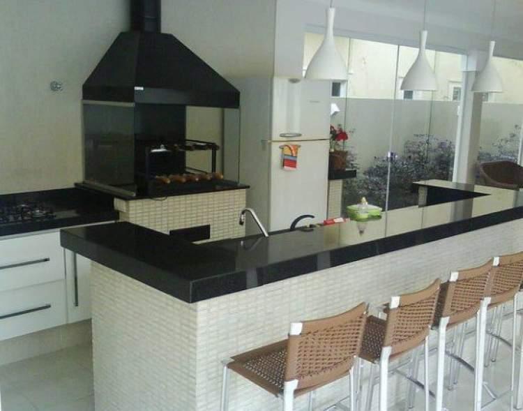 Balcão de cozinha externa