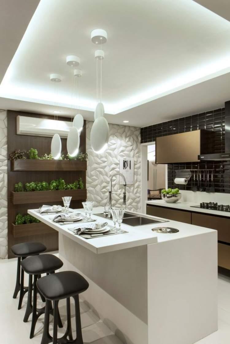 30 inspira es de balc o de cozinha para decorar com muito for Idee casa minimalista