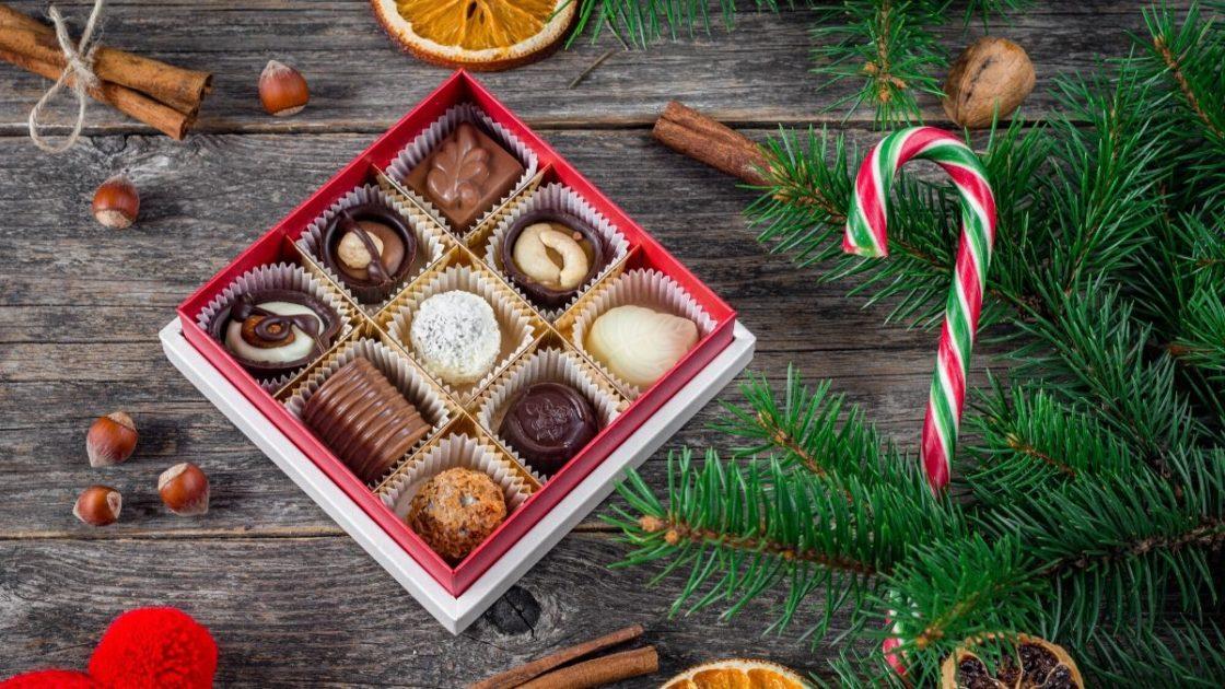 Chocolates é uma das sugestões de presente de Natal