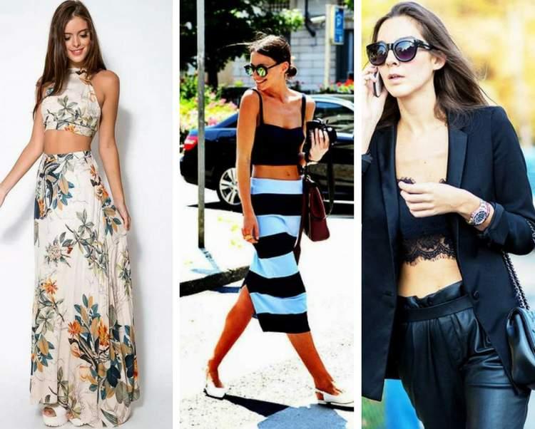 ab9d12fe0 6 ideias para você saber como usar cropped tops - Site de Beleza e Moda
