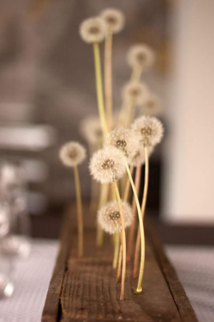 Flores para casamento no campo