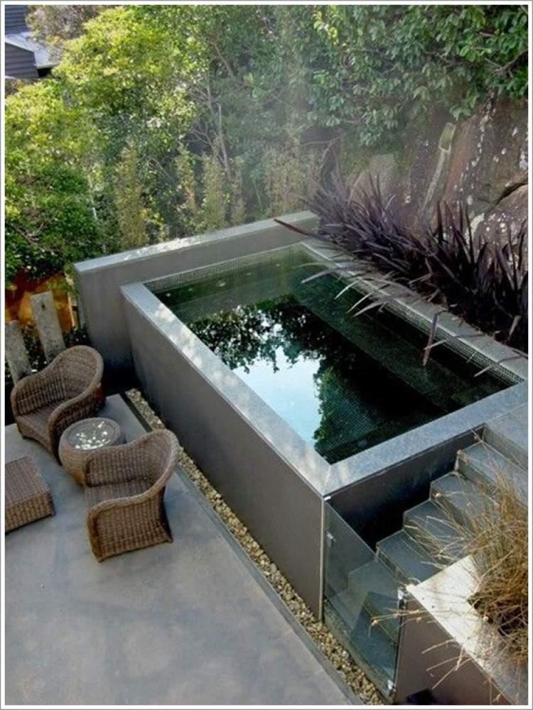 Ideia de piscina pequena
