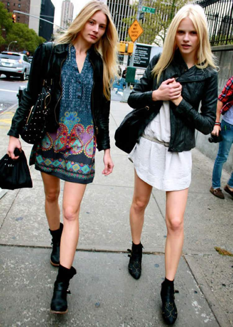 Looks para mulheres altas e magras