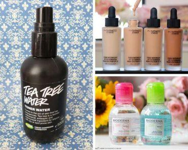 Melhores produtos para salvar a pele oleosa no verão