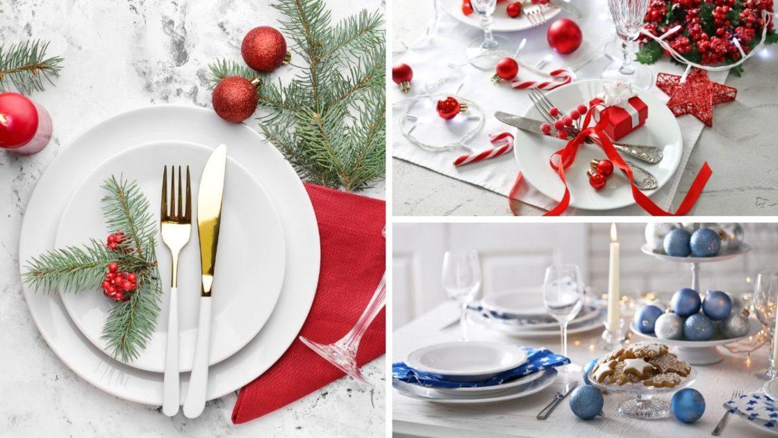 Ideias para decoração da mesa da ceia de Natal