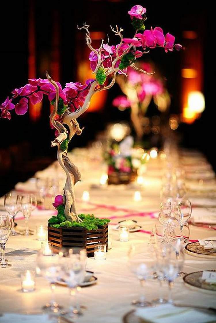 Orquídeas na decoração de casamento