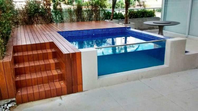 12 vezes que nos apaixonamos pelas piscinas pequenas for Piscina tubular pequena