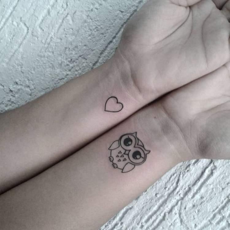 Exemplos de tatuagens delicadas