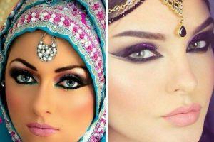 Aprenda fazer maquiagem árabe passo a passo 1