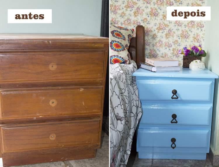 Restaure os móveis antigos para economizar na decoração