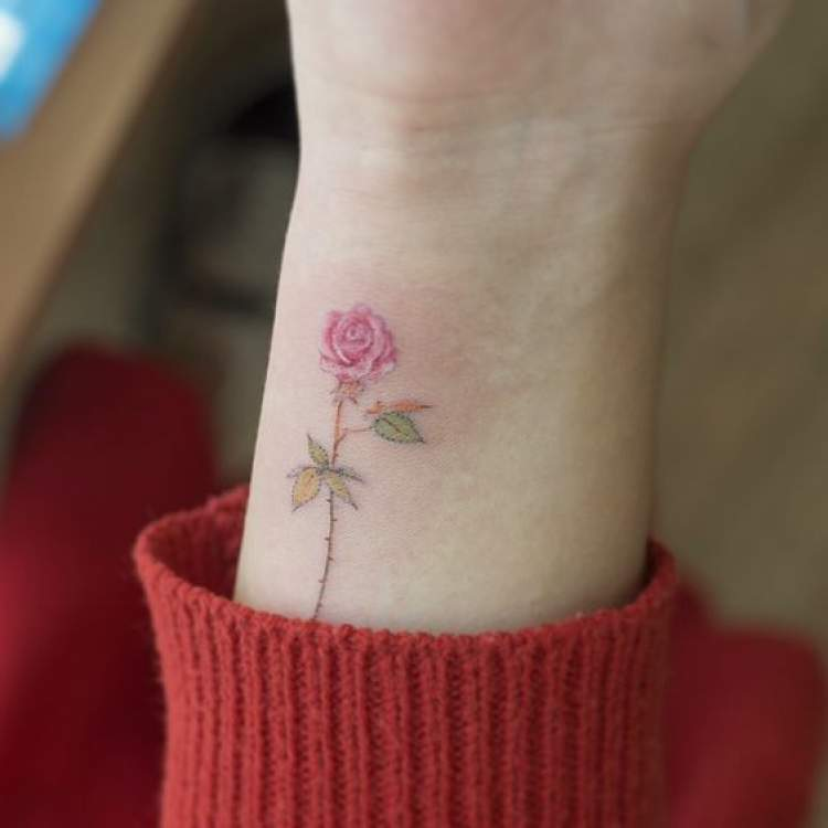 100 Ideias De Tatuagens Delicadas
