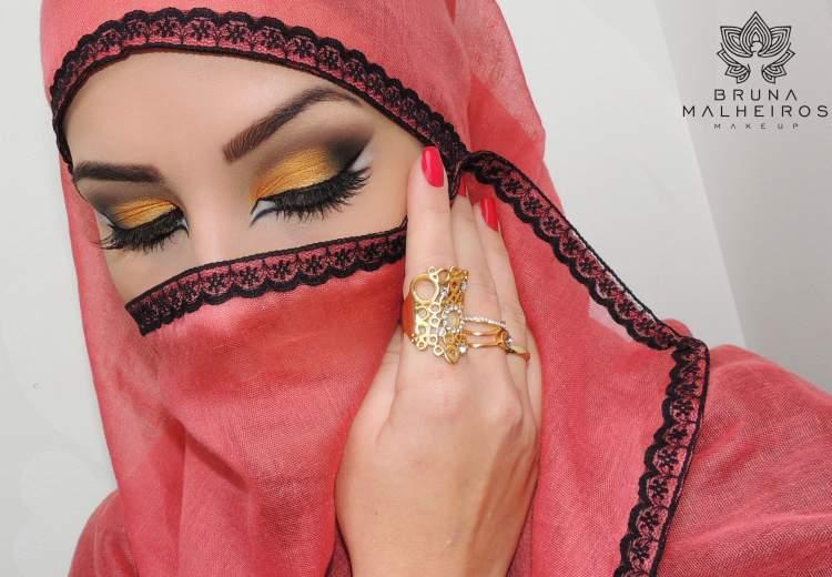 Tutorial de maquiagem árabe