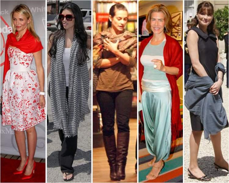 Xale é um dos itens da moda que envelhecem pelo menos dez anos
