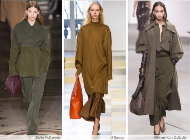 A junção do estilo militar e streetwear é uma das tendências que vão bombar no inverno 2018