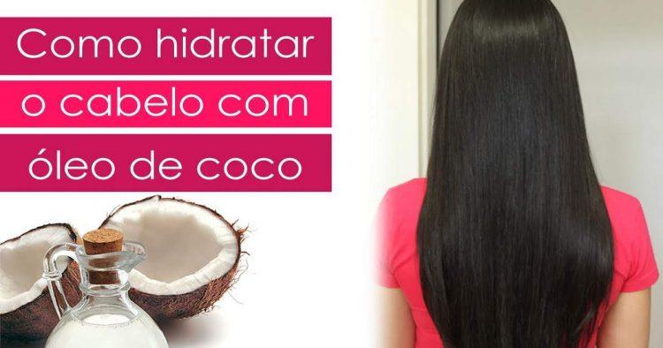 Saiba como hidratar o cabelo com óleo de coco