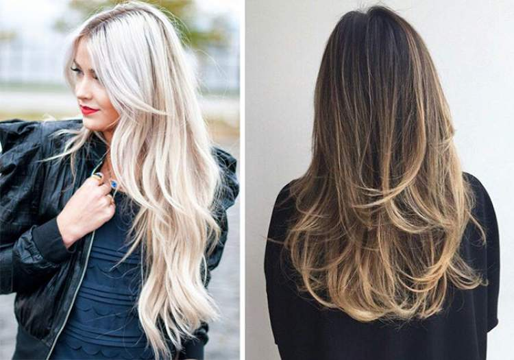 Corte em camadas é uma das ideias de cortes de cabelo longo