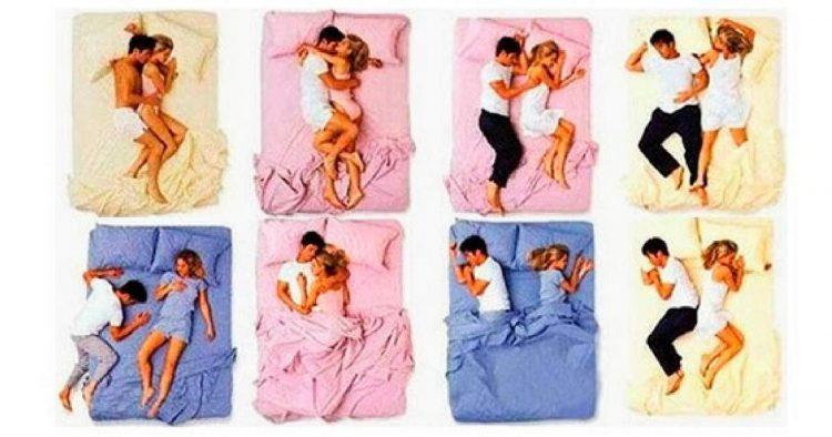 Descubra o que a posição em que um casal dorme diz sobre o relacionamento