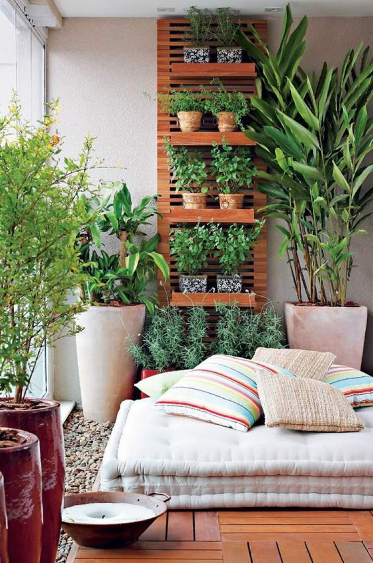 Ideias práticas para decorar a varanda ou sacada