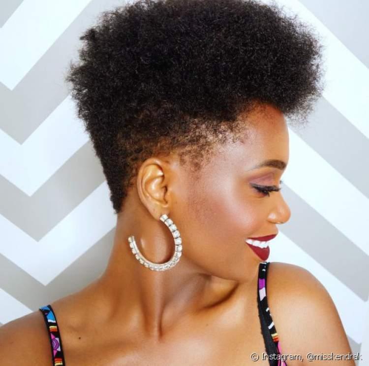 Tapered é uma das ideias de cortes de cabelo curto