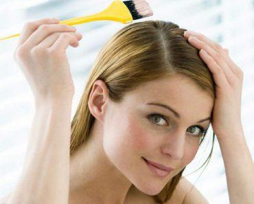 Truque para pintar o cabelo em casa