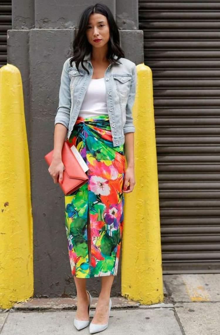 Usar só peças de cores sólidas é um dos erros que deixam o look feminino sem graça