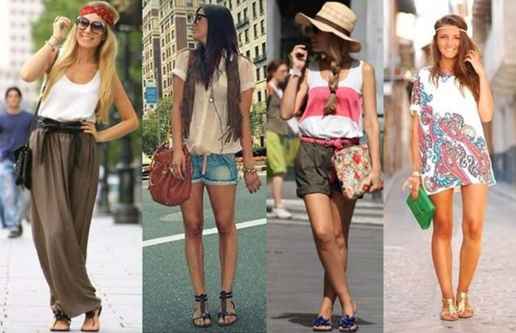 As rasteirinhas combinam com mulheres de todos os estilos