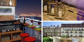 Ideias fáceis para decorar a varanda ou sacada