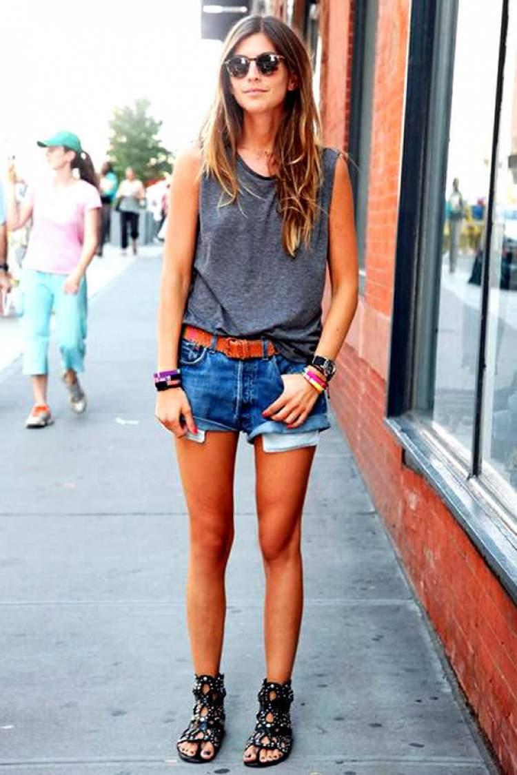 Look casual combina com sandália rasteirinha