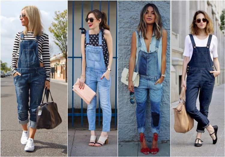 Macacão jeans fica bem em qualquer corpo