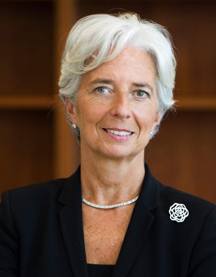 Christine Lagarde é uma das maiores líderes femininas de sucesso